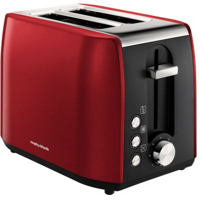 Morphy Richards Equip 222060 2 Slice Toaster - Red Best Price, Cheapest Prices