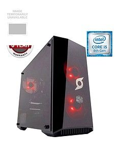 Zoostorm StormForce Onyx Intel Core i5 Processor, GeForce GTX 1060 6Gb Graphics, 8Gb RAM, 1Tb HDD & 120Gb SSD, Gaming PC Best Price, Cheapest Prices