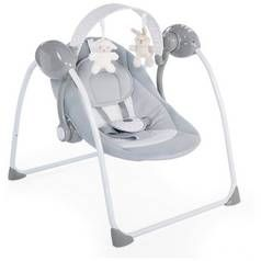 Chicco Relax and Play Swing - Cool Grey Best Price, Cheapest Prices