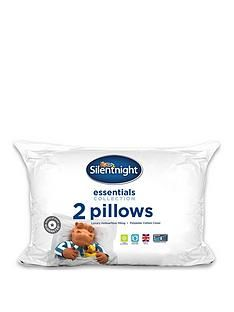 Silentnight Hippo & Duck Essentials Pillow Pair Best Price, Cheapest Prices