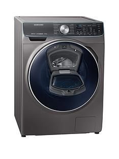 Samsung WW10M86DQOO/EU 10kg Load, 1600 Spin QuickDrive™ Washing Machine with AddWash™ and 11 Year Samsung Parts and Labour Warranty -  Graphite Best Price, Cheapest Prices