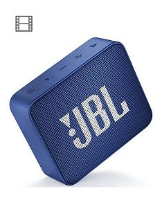 JBL GO 2 Wireless Bluetooth Speaker with IPX7 Water-Resistant Rating, 5 Hours Playtime and Call Handling - Blue Best Price, Cheapest Prices