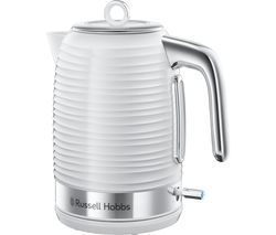 RUSSELL HOBBS Inspire Jug Kettle - White Best Price, Cheapest Prices