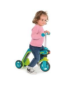Smoby Reversible 2-In-1 Scooter &Ndash; Blue Best Price, Cheapest Prices