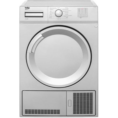 Beko DTGC7000S 7Kg Condenser Tumble Dryer - Silver - B Rated Best Price, Cheapest Prices