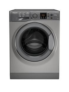 Hotpoint Nswm943Cgg 9Kg Load, 1400 Spin Washing Machine - Graphite Best Price, Cheapest Prices