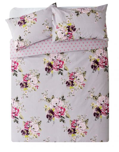 Argos Home Floral Bedding Set - Kingsize Best Price, Cheapest Prices