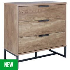 Argos Home Nomad 3 Drawer Chest Best Price, Cheapest Prices