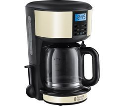 RUSSELL HOBBS Legacy 20683 Fast Brew Filter Coffee Machine - Cream Best Price, Cheapest Prices