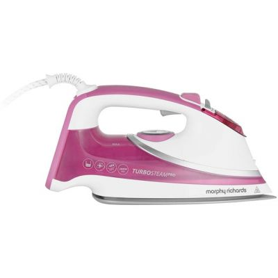 Morphy Richards Turbosteam Pro 303123 2800 Watt Iron -White Best Price, Cheapest Prices