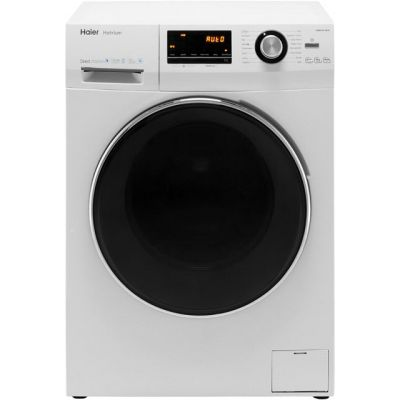 Haier Hatrium HW80-B14636 8Kg Washing Machine with 1400 rpm - White - A+++ Rated Best Price, Cheapest Prices
