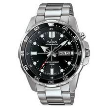 Casio Men's Stainless Steel Rotating Bezel Backlight Watch Best Price, Cheapest Prices
