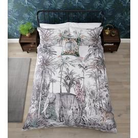 Argos Home Vintage Jungle Bedding Set - Kingsize Best Price, Cheapest Prices