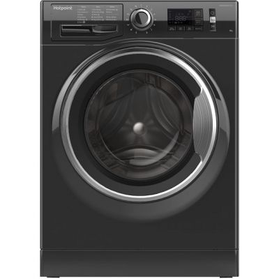 Hotpoint Active Care NM11946BCAUK 9Kg Washing Machine with 1400 rpm - Black - A+++ Rated Best Price, Cheapest Prices