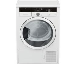 GRUNDIG GTN28240GW 8 kg Heat Pump Tumble Dryer - White Best Price, Cheapest Prices