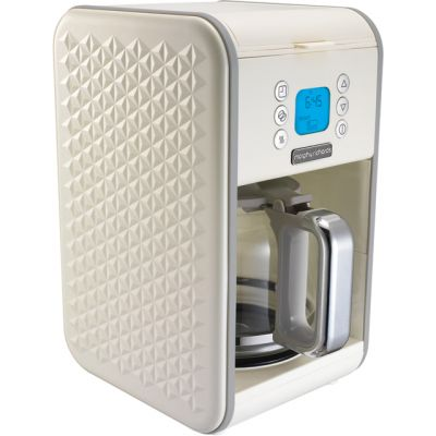Morphy Richards Vector 163004 Filter Coffee Machine - Cream Best Price, Cheapest Prices