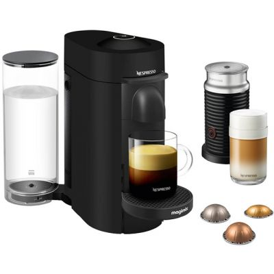 Nespresso by Magimix Vertuo Plus & Milk 11387 - Black Best Price, Cheapest Prices