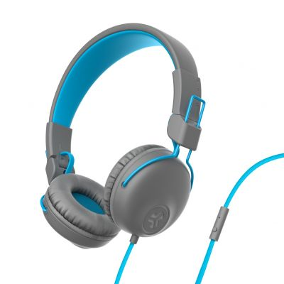 JLAB Studio On-Ear Headphones - Blue/ Grey Best Price, Cheapest Prices