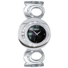 Seksy Ladies' 4271 Black Dial Stone Set Watch Best Price, Cheapest Prices