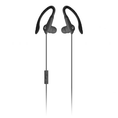 Kitsound Exert Sport In-Ear Headphones - Black Best Price, Cheapest Prices