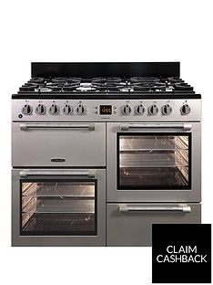 Leisure CK100F232S 100cm Dual Fuel Range Cooker - Silver Best Price, Cheapest Prices