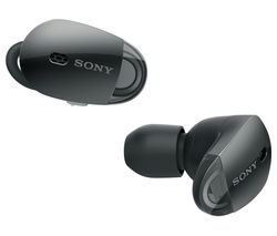 SONY WF1000X Wireless Bluetooth Noise-Cancelling Headphones - Black Best Price, Cheapest Prices