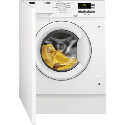Zanussi Z714W43BI Integrated 7Kg Washing Machine with 1400 rpm - A+++ Rated Best Price, Cheapest Prices