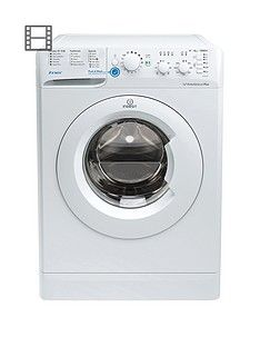 Indesit Innex BWSC61252W 1200 Spin, 6kg Load Washing Machine - White Best Price, Cheapest Prices
