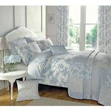 Dreams N Drapes Malton Blue Bedding Set - Superking Best Price, Cheapest Prices