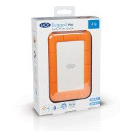 Lacie Rugged Mini 4TB USB 3.0 Portable Hard Drive Best Price, Cheapest Prices