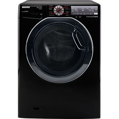 Hoover Dynamic Extreme DWFT410AH8B Wifi Connected 10Kg Washing Machine with 1400 rpm - Black - A+++ Rated Best Price, Cheapest Prices