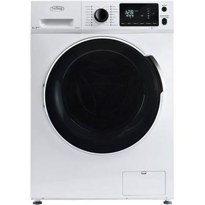 Belling BELFW814 8Kg Washing Machine with 1400 rpm - White - A+++ Rated Best Price, Cheapest Prices
