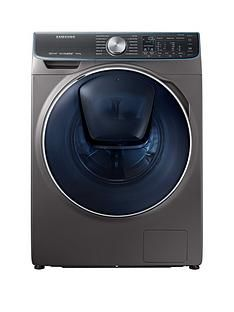 Samsung WW10M86DQOO/EU 10kg Load, 1600Spin QuickDrive™ Washing Machine with AddWash™and 5 Year Samsung Parts and Labour Warranty - Graphite Best Price, Cheapest Prices