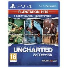 Uncharted Collection PS4 Hits Game Best Price, Cheapest Prices