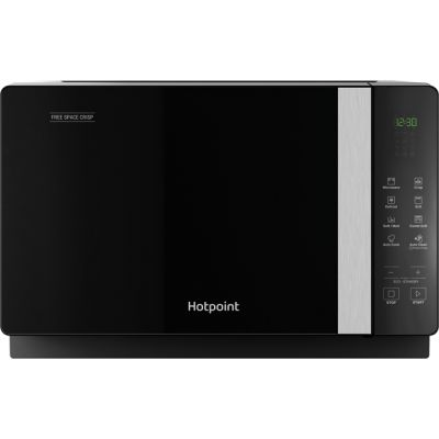 Hotpoint FREE SPACE CRISP MWHF206B 20 Litre Microwave With Grill - Black Best Price, Cheapest Prices