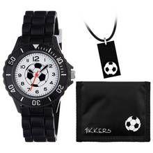 Kids Tikkers Black Football Watch Set Best Price, Cheapest Prices