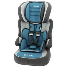 Beline Luxe Group 1/2/3 High Back Booster - Blue
