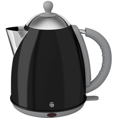 Swan Retro SK261050BN Kettle - Black Best Price, Cheapest Prices