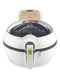 Tefal ActiFry Original Plus with Snacking Tray GH847040Air Fryer - White Best Price, Cheapest Prices
