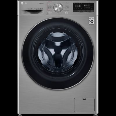 LG V7 F4V709STS Wifi Connected 9Kg Washing Machine with 1400 rpm - Graphite - A+++ Rated Best Price, Cheapest Prices