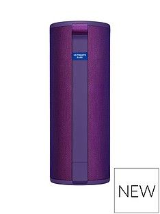 Ultimate Ears MEGABOOM 3 Bluetooth Speaker - Ultraviolet Purple Best Price, Cheapest Prices