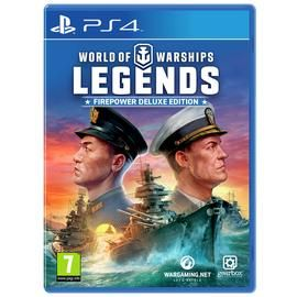 World of Warships: Legends Deluxe Edition PS4 Game Best Price, Cheapest Prices