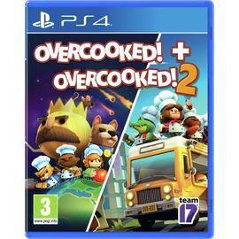 Overcooked 1 and 2 Double Pack PS4 Game Best Price, Cheapest Prices