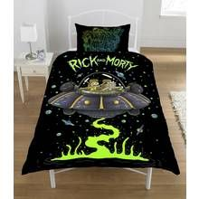 Rick and Morty UFO Spaceship Duvet Set - Single