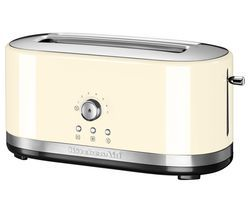 KITCHENAID 5KMT4116BAC 2-Slice Toaster - Cream Best Price, Cheapest Prices