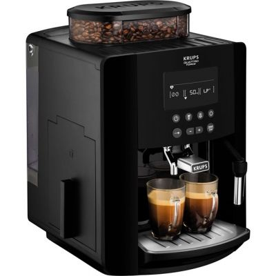 Krups Arabica Digital EA817040 Bean to Cup Coffee Machine - Black Best Price, Cheapest Prices