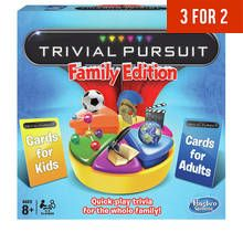 Trivial Pursuit Family Edition Board Game from Hasbro Gaming