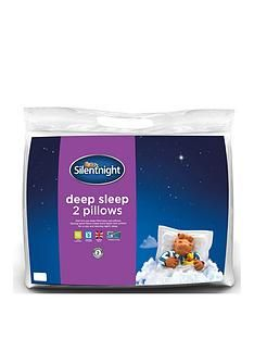 Silentnight Deep Sleep Pillows (2 Pack) Best Price, Cheapest Prices