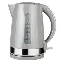 Cookworks Manhattan Kettle - Grey Best Price, Cheapest Prices