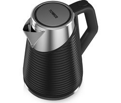 TOWER Linear T10009 jug Kettle - Black Best Price, Cheapest Prices